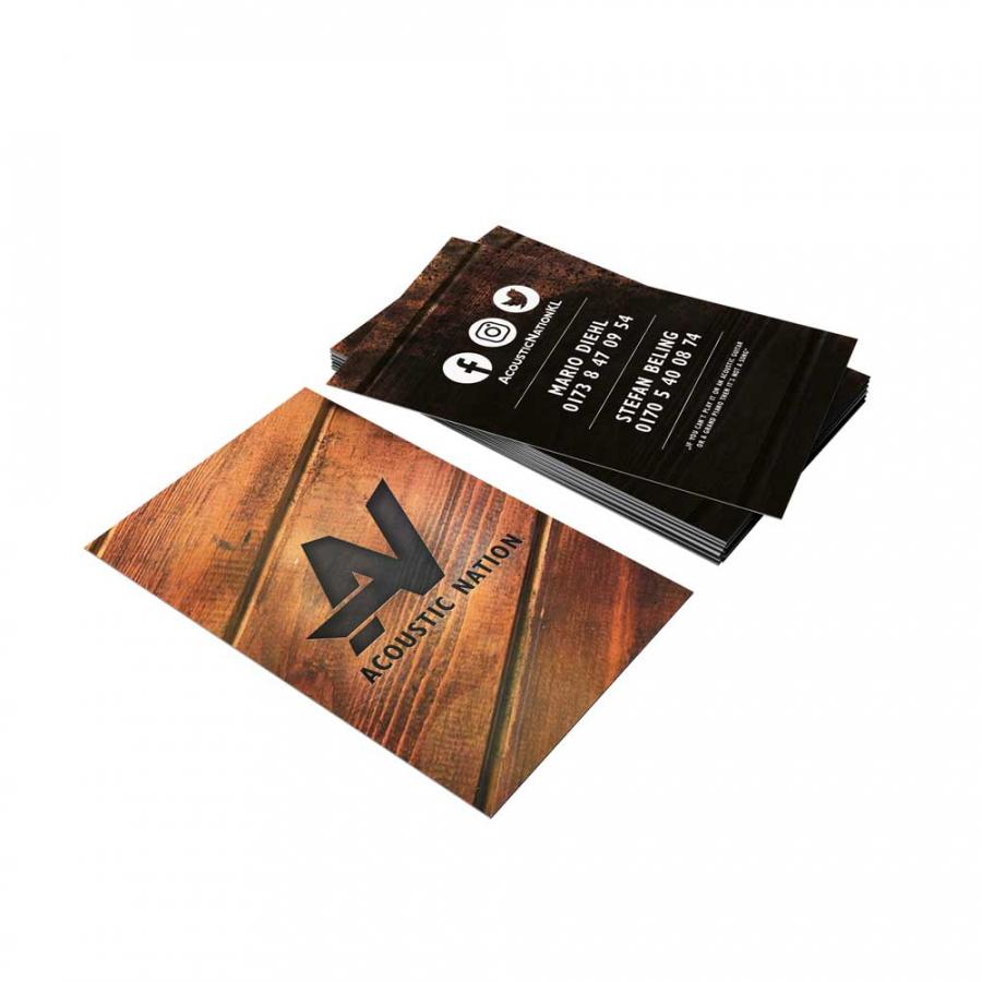 Visitenkarten für Acoustic Nation